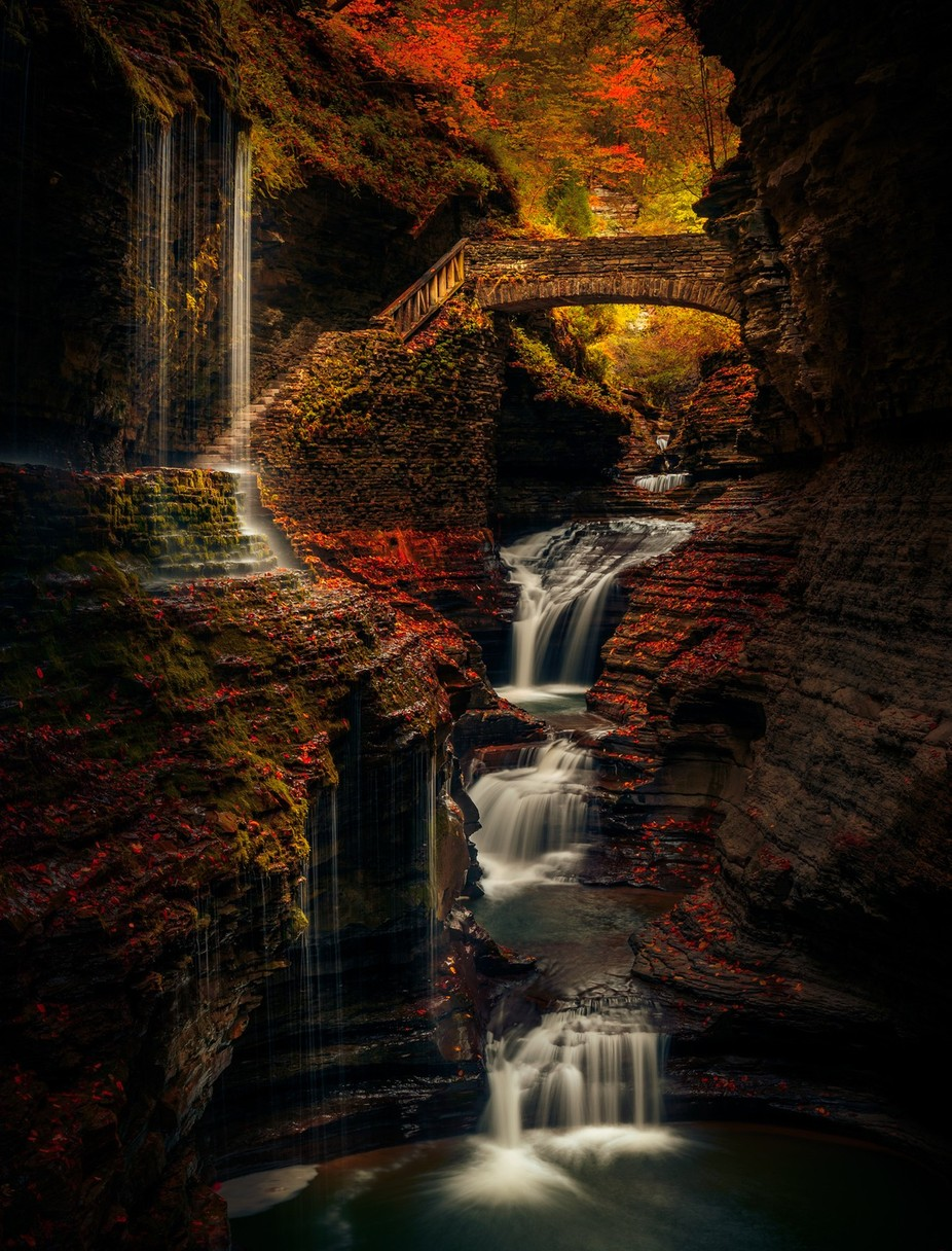 Watkin's Glen by DerekKind - Using Filters Photo Contest