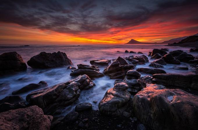 Sunrise at Krossnes by DerekKind - The Four Elements Photo Contest