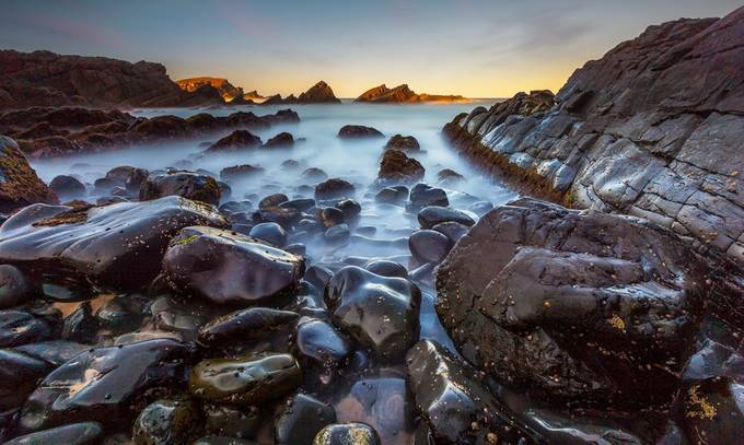 Pebble Beach by TonyLaw - Long Exposure Views Photo Contest