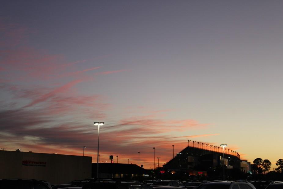 Cloudy afternoon over Daytona International Speedway, Daytona Beach, Florida. (Daytona Rising)