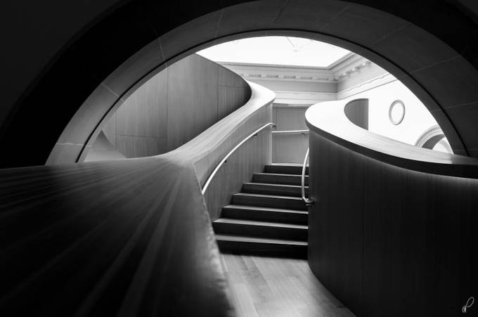 Yet Another Stair by empty_quarter - Composing with Curves Photo Contest
