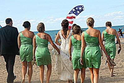 Beached Wedding Party-Something Old Something New Wedding
