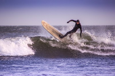 February Surfer.