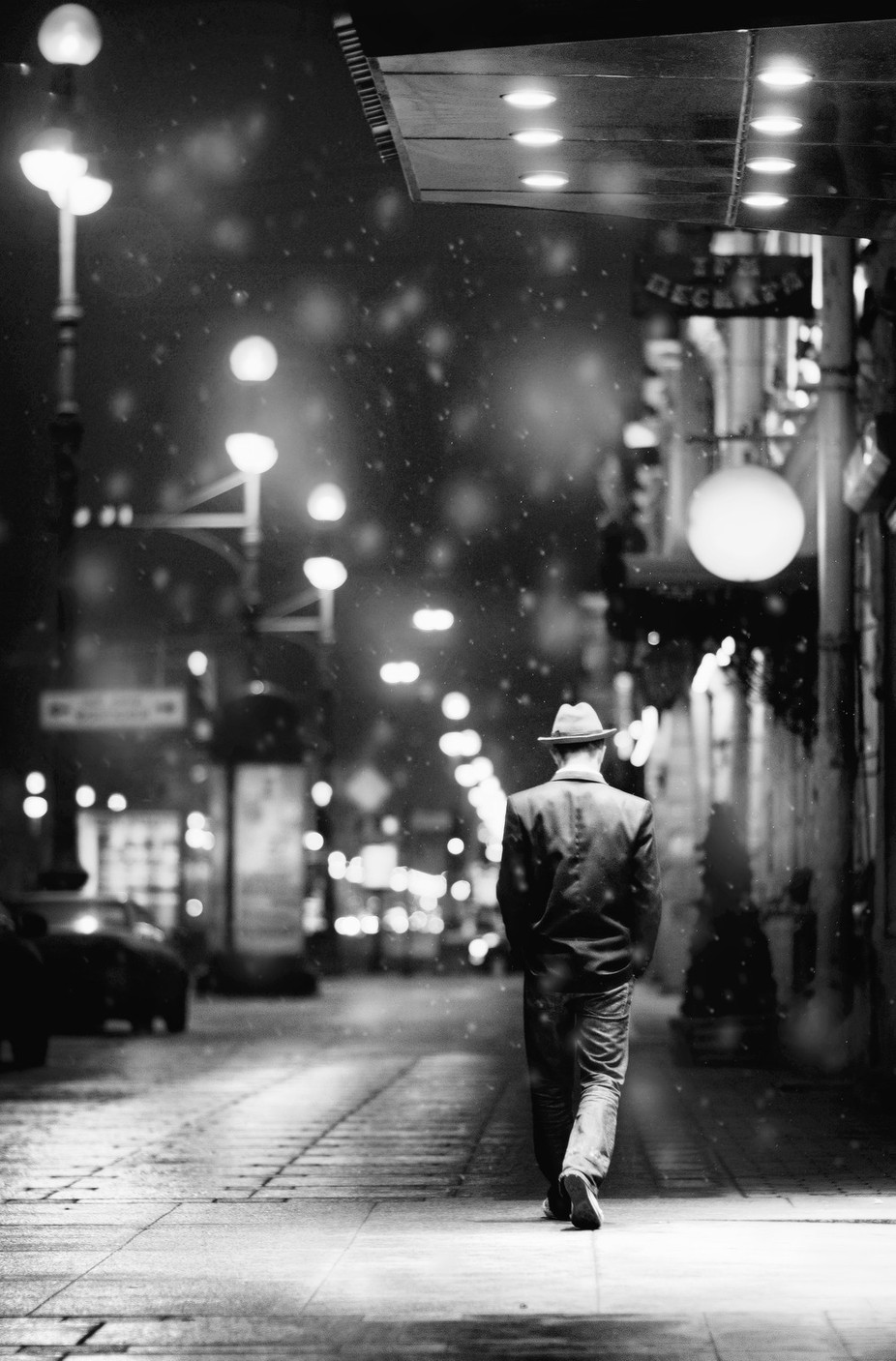 Let it snow... by WWWest - People At Night Photo Contest