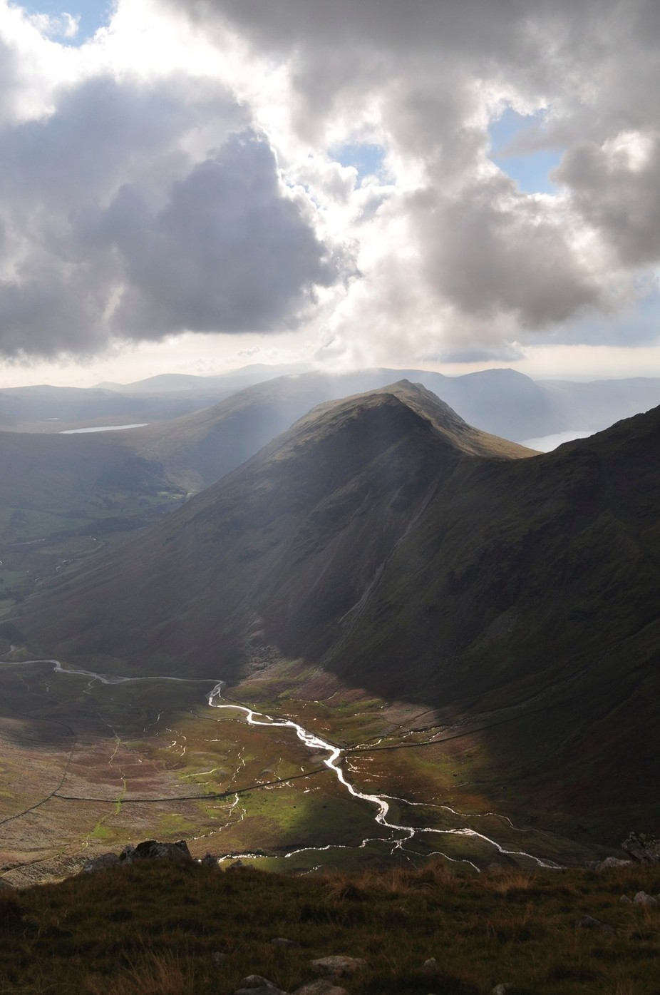 View from Pillar towards Wastwater