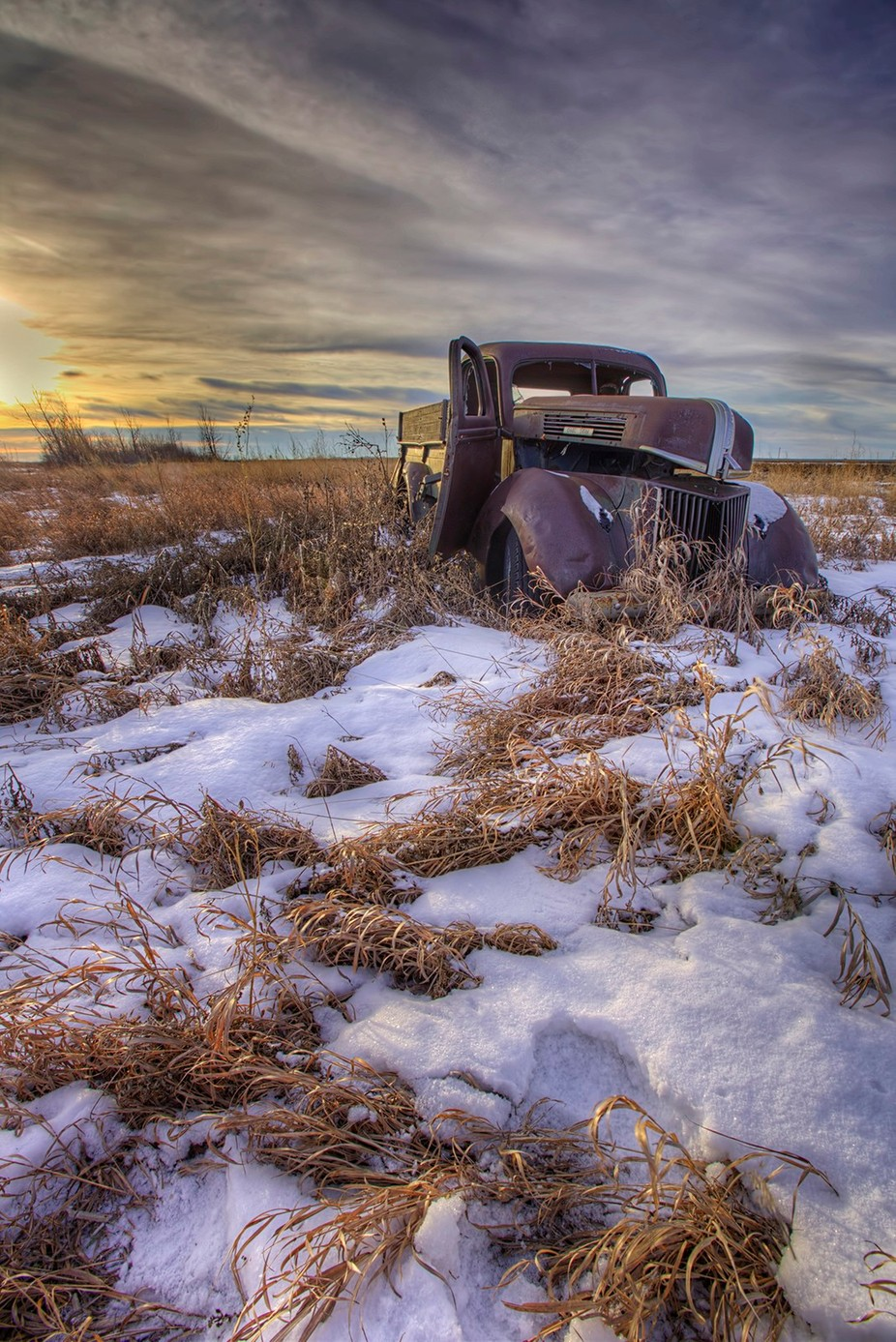 parked for the season by RyanWunsch - Trucks Photo Contest