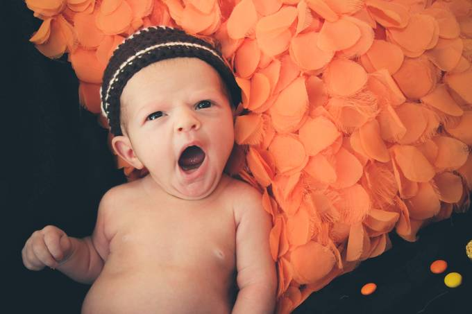 Sleepy baby by Chickey - Babies Are Cute Photo Contest