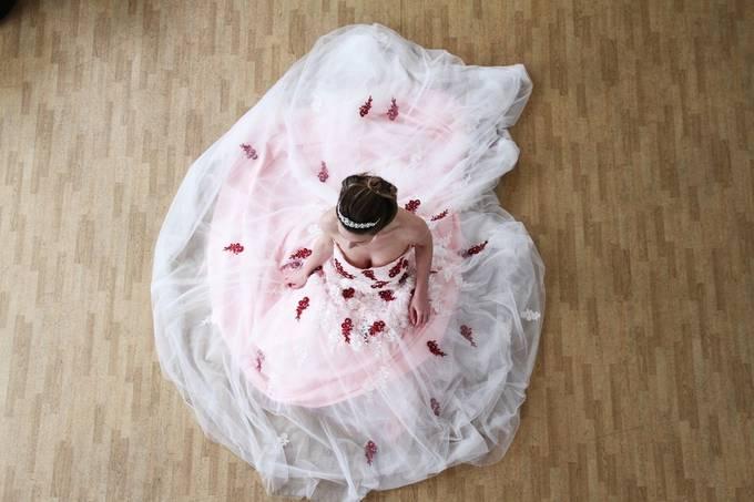 Wedding Dress by Flashsnap - High Vantage Points Photo Contest