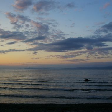 Qualicum Beach`s Peaceful Pink Sunset - 31 May 2008
