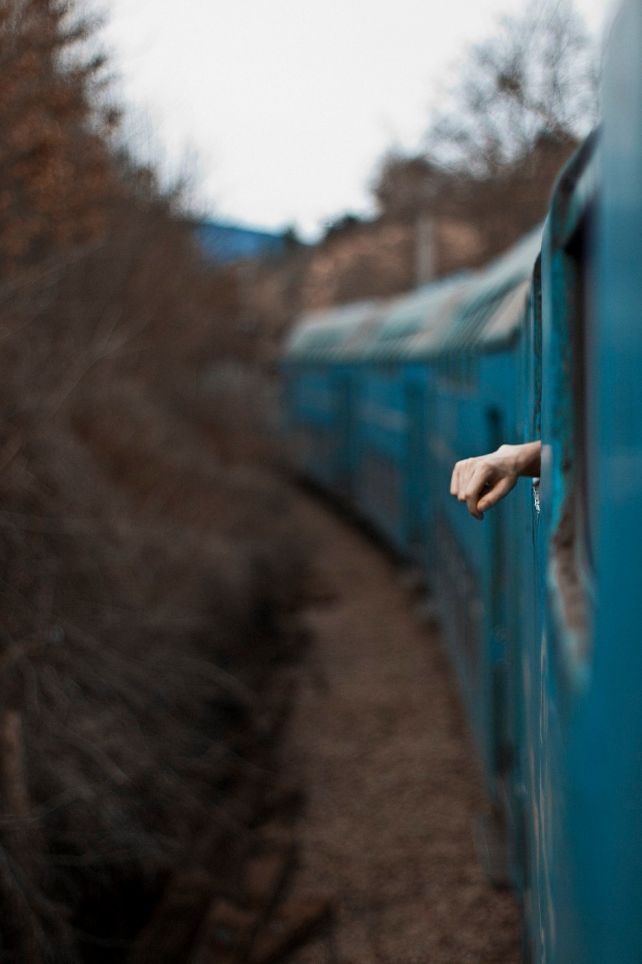 lone traveler by szcstams - Your Point Of View Photo Contest