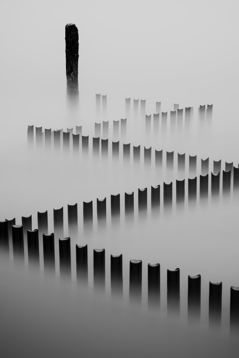 Caister on Sea 30/01/2016 by mushroomgodmat - Composing with Diagonals Photo Contest
