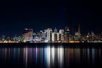 San Francisco Super Bowl 50 Skyline 1