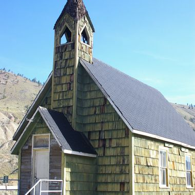 Church at Spencers Bridge, B.C. July 6, 2007