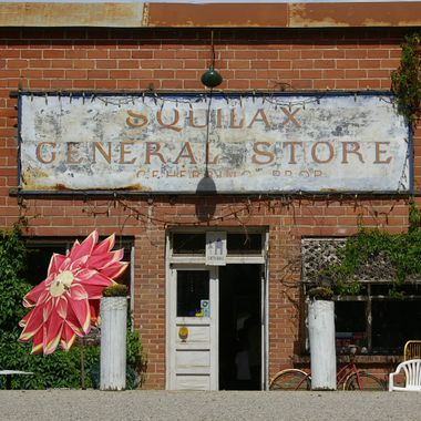 GENERAL STORE SURVIVAL July 6, 2007 on way to Sicamous, B.C.