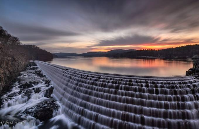The Dam Dawn by frankvacante - The Moving Clouds Photo Contest