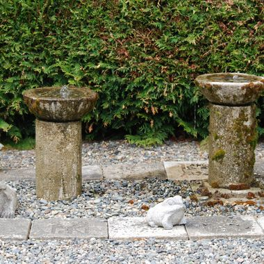 CALMING FOUNTAINS in San Pariel area of Parksville, BC - May 2015 - Garden Show