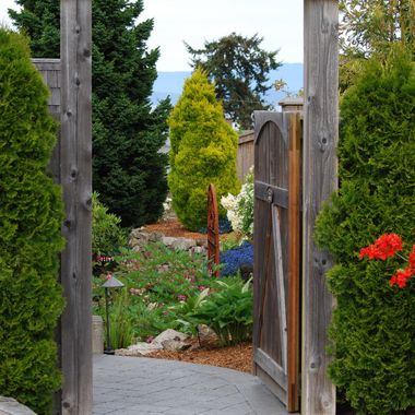 GARDEN'S GATE - During Mom`s Day Oceanside Garden Tour - May 2015