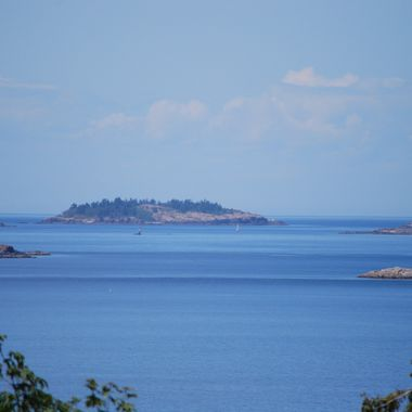 Sunshine Coast & Islands from Nanaimo, B.C. - Summer 2015