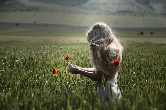 Feeling nature by cameliasopon - Long Hair Photo Contest