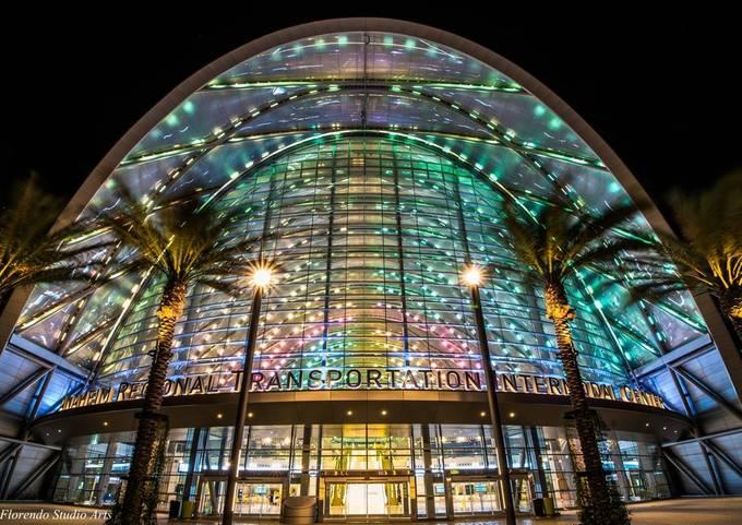 The ARTIC, Anaheim Regional Transportation Intermodal Center by FlorendoStudioArts - Public Transport Hubs Photo Contest