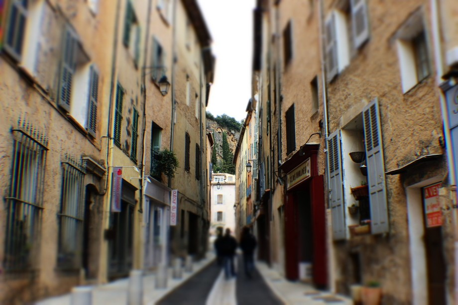 An alley in France