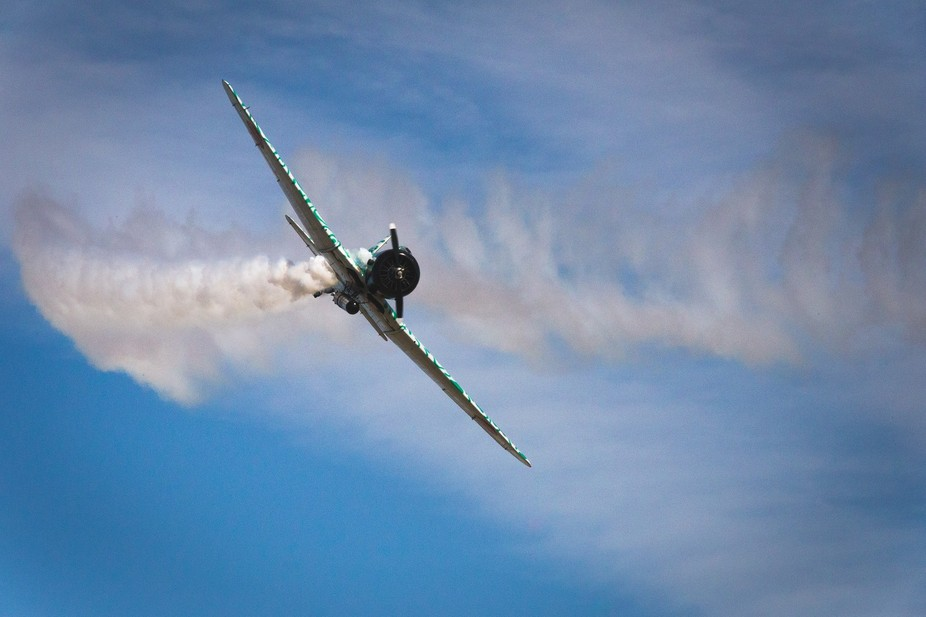 Wings Over Houston 2015,  the Bombing of Pearl Harbor reenactment.