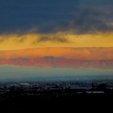 20160106 Sunrise and clouds Panorama1A