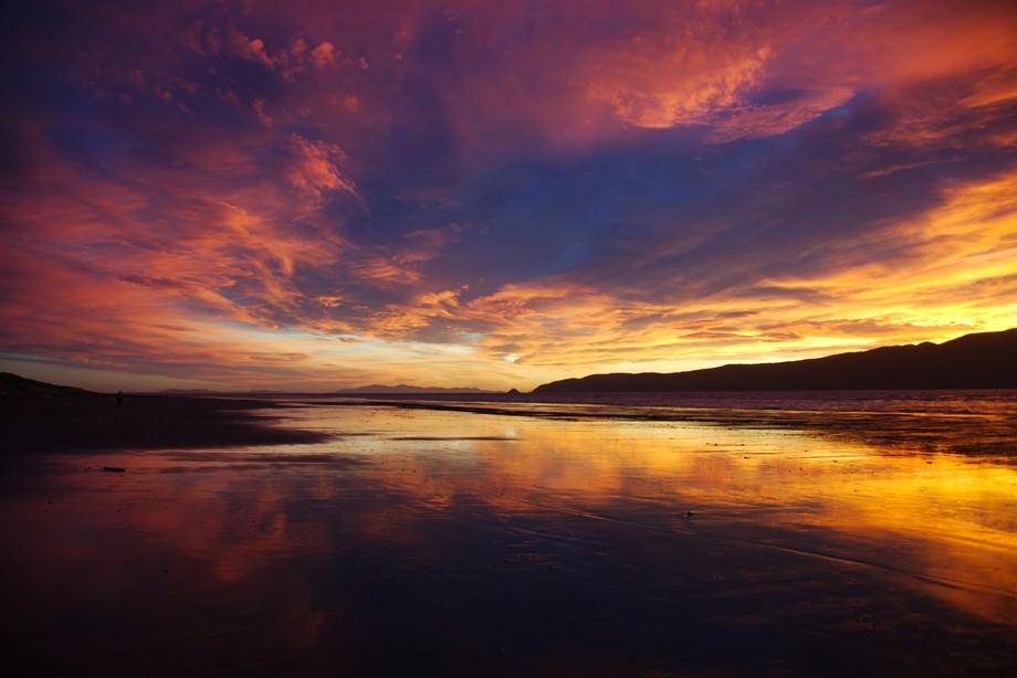 sunset....background south island NZ
