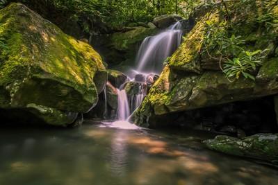 Mtn Stream Waterfall