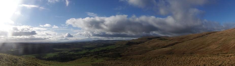the campsie  hills..scotland
