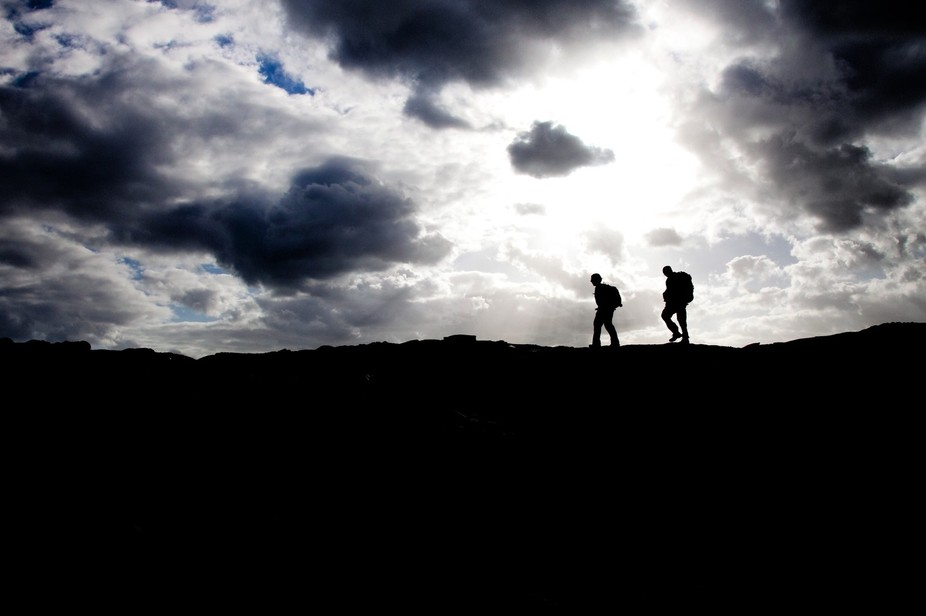 Hike through Volcanoes National Park