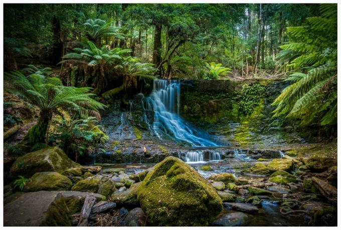 Waterfall Tasmania by tazdevilgreg - Long Exposure Views Photo Contest