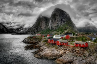 Clouds on Hamnoy