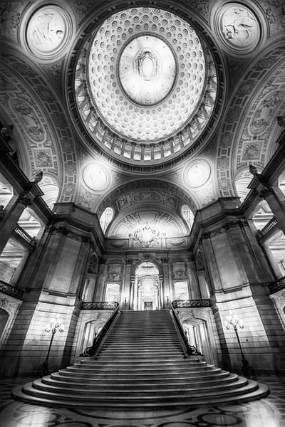 Underneath the grand dome