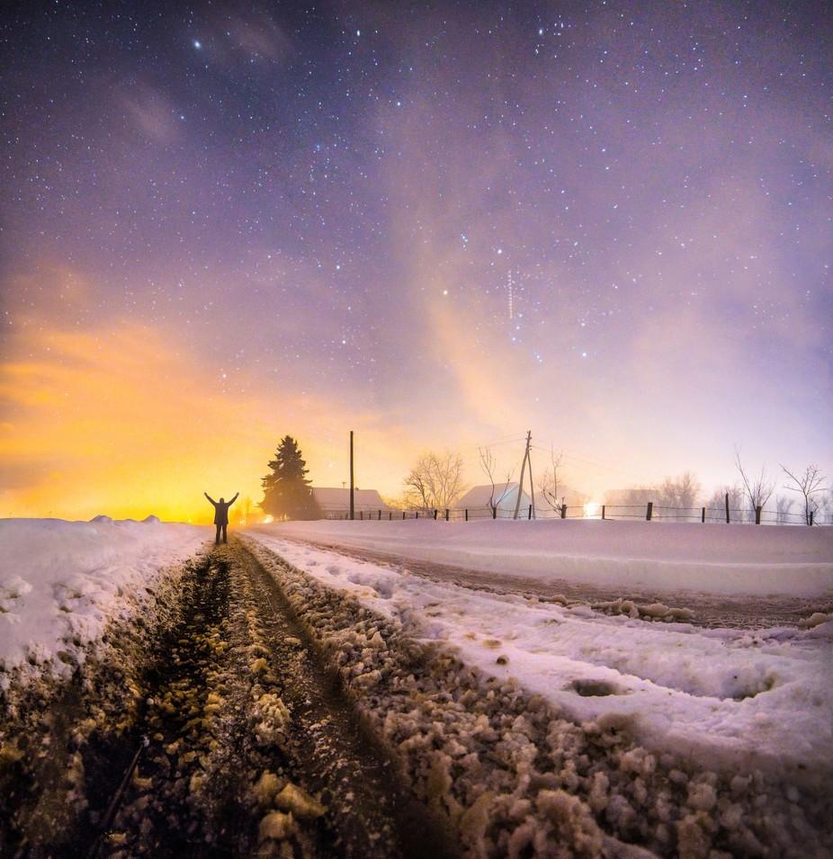 Frozen Dream by srdjanvujmilovic - People In Large Areas Photo Contest