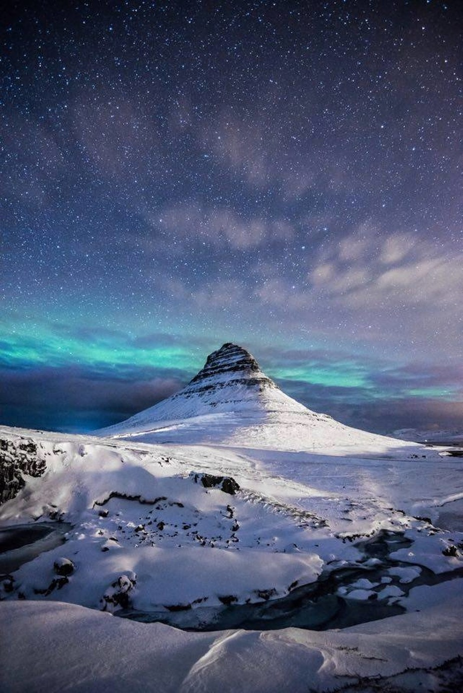 Kirkjufell, Iceland by andreaheribanova - Our Natural Planet Photo Contest