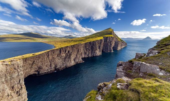 Leitisvatn Cliffs by dslrno - Rugged Landscapes Photo Contest