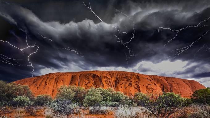 Storm over Uluru by munecito - Discover Oceania Photo Contest
