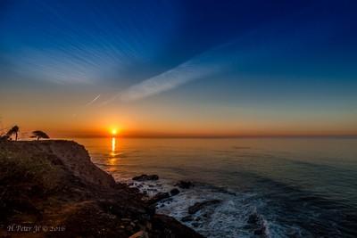 Sunrise at Point Fermin