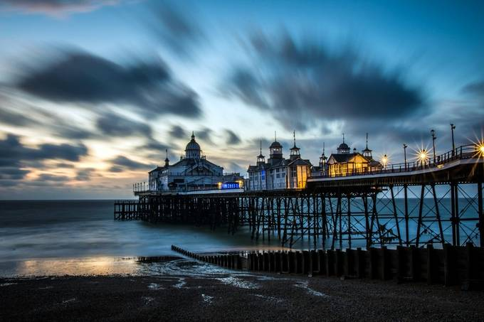 Eastbourne Pier  by neilvary - Clouds In Movement Photo Contest