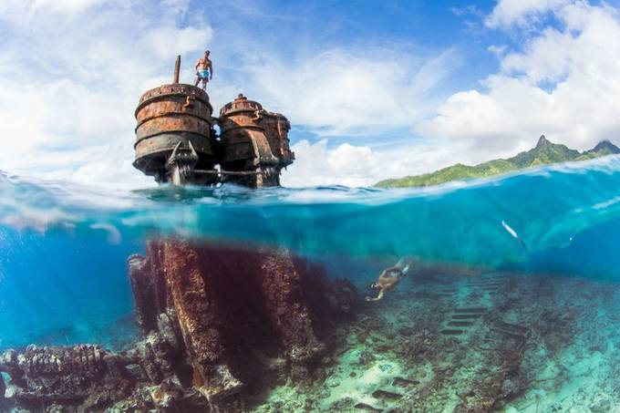 SS Mai Tai - Cook Islands by anhede - Get Wet Photo Contest