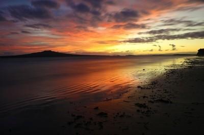 Rangitoto Sunrise