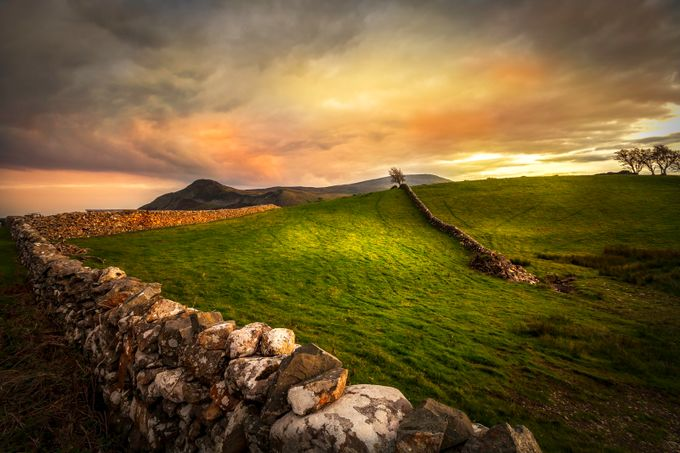 Stone wall by Martine75 - Playing With Light Photo Contest