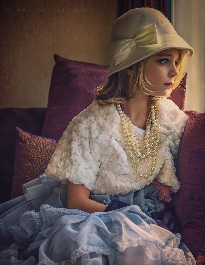 She Waits by judyhurley - Celebrating Fashion Photo Contest