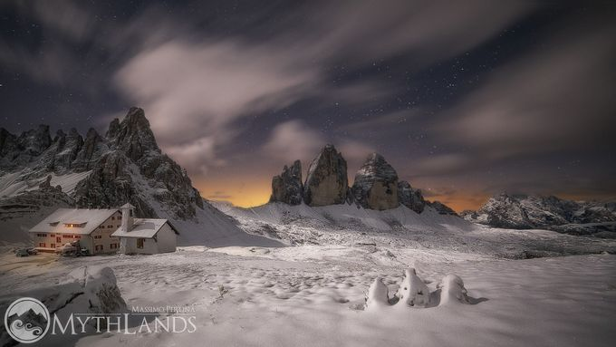 3 little peak in a dream by massimoperlina - Our World At Night Photo Contest
