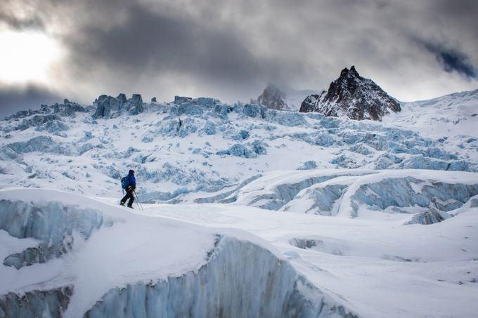 Mer de Glace by ollybowman - Take A Stroll Photo Contest