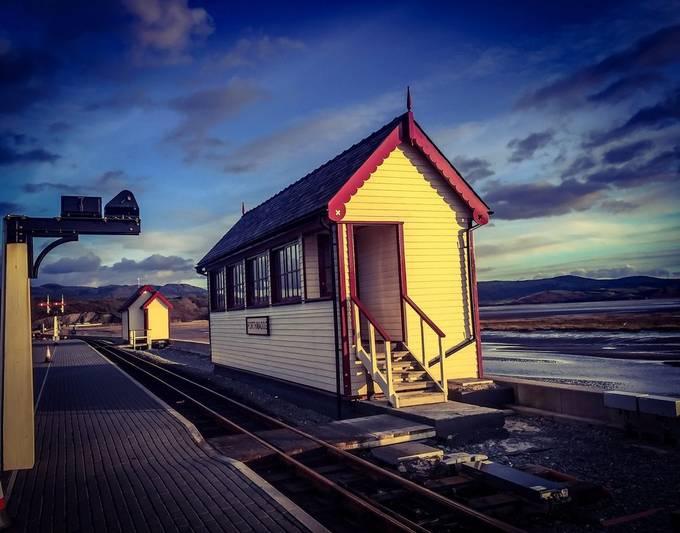 The cob, Porthmadog railway north Wales 2 by jasoncervi - Public Transport Hubs Photo Contest