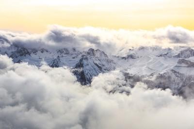 Magic of the Dolomites.