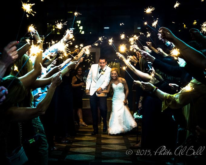 Wedding Sparkles  by Al_Bell - People At Night Photo Contest