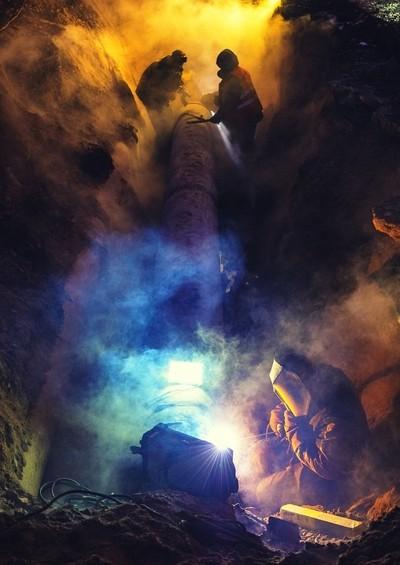 Repair of heating duct